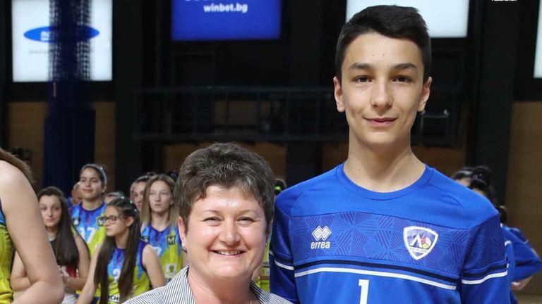 Симеон Николов MVP на финалите за прекадети