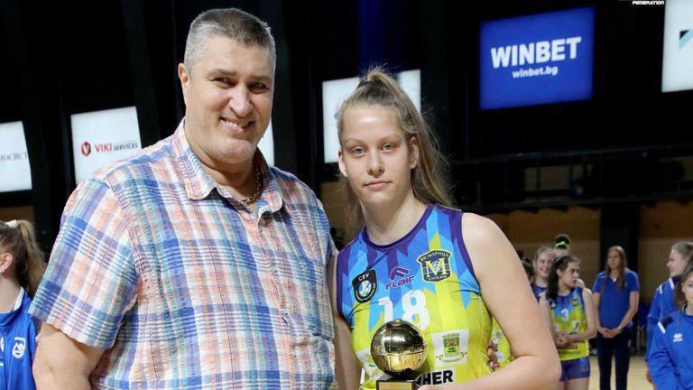 Ива Дудова MVP на финалите за прекадетките
