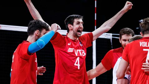 Русия срази Сърбия в дербито на Лигата на нациите