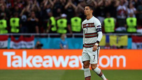 Кристиано Роналдо с уникален пропуск не успя да даде аванс на Португалия срещу Унгария