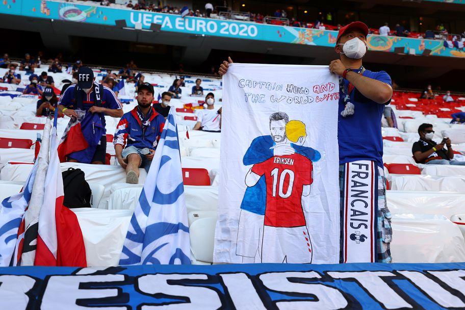 """Феновете на Франция и Германия приковаха погледите на """"Алианц Арена"""""""