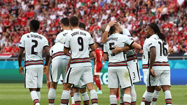 Рикошет донесе късен гол за Португалия срещу Унгария