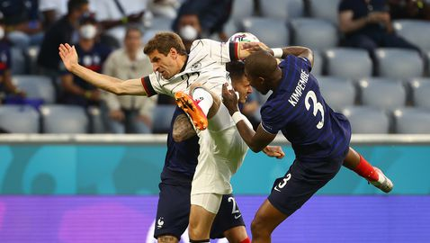 Франция 1:0 Германия, забележителен автогол на Хумелс (гледайте тук)