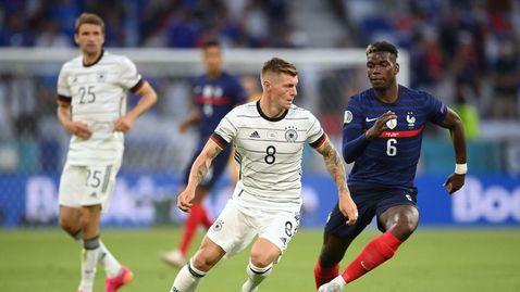 ПП Франция - Германия 1:0