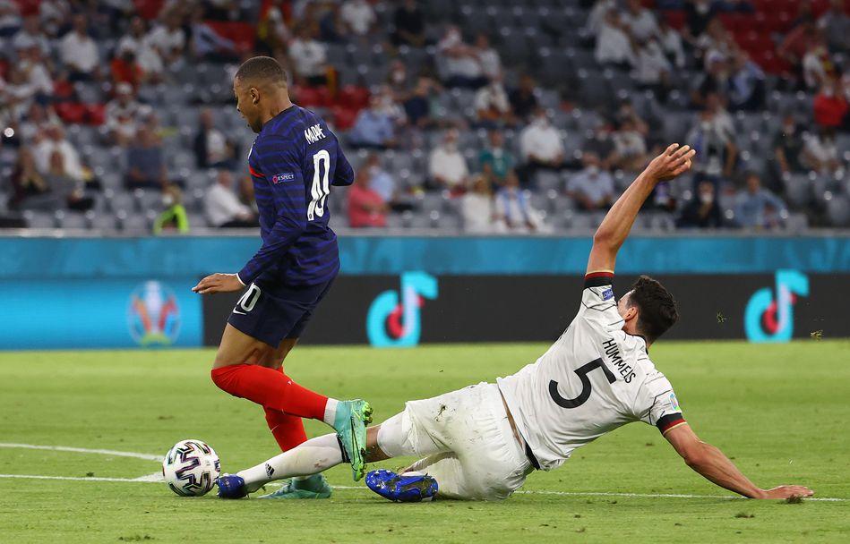 Франция - Германия (15-06-21)