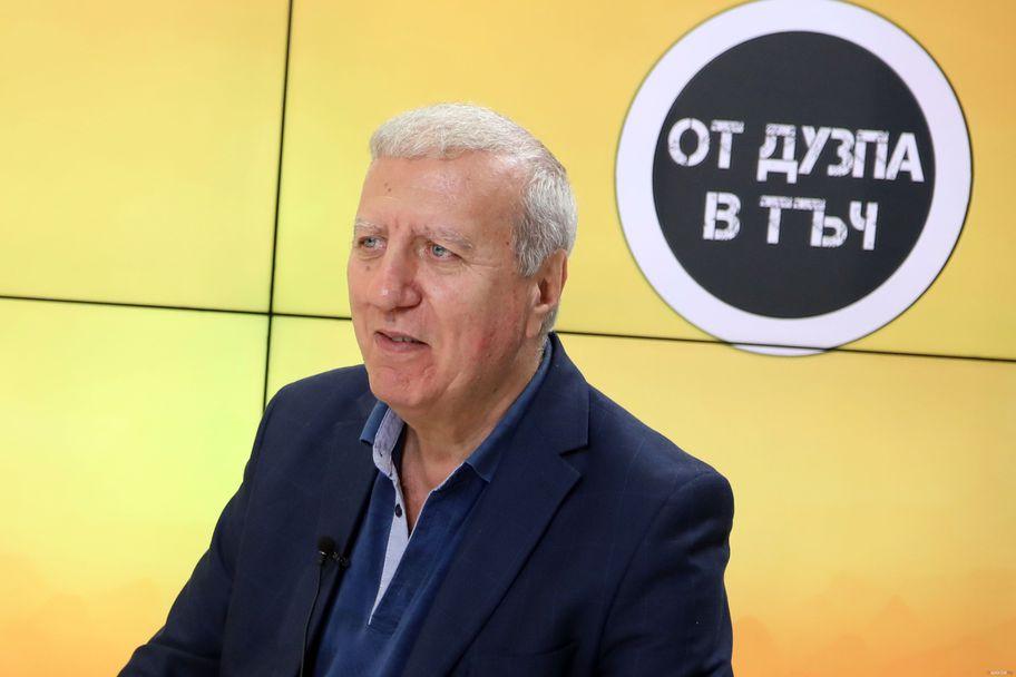 """Александър Томов гостува на """"От дузпа в тъч"""""""