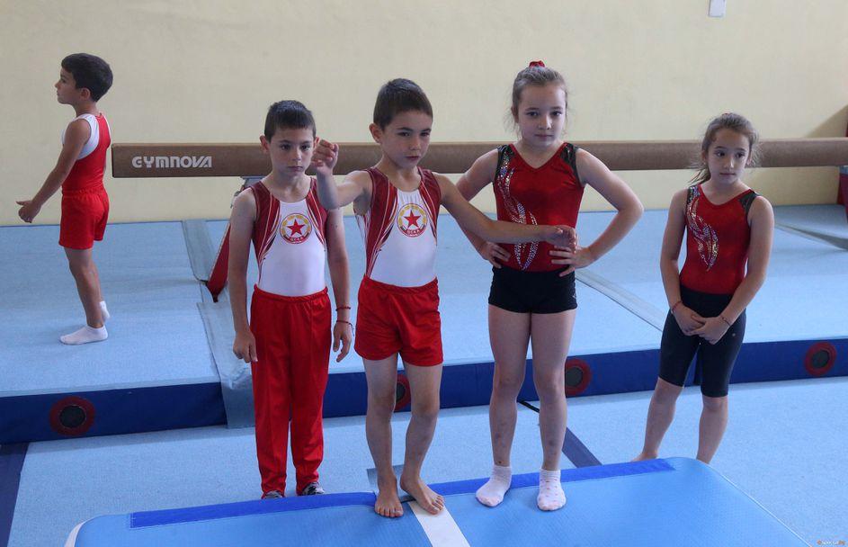 Откриха залата по гимнастика на ЦСКА