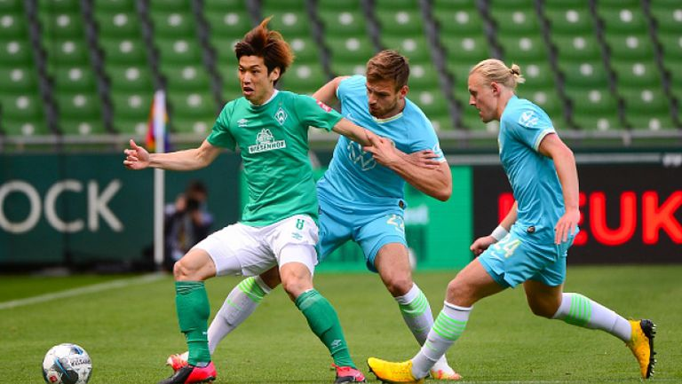 Волфсбург удари Вердер с гол в края