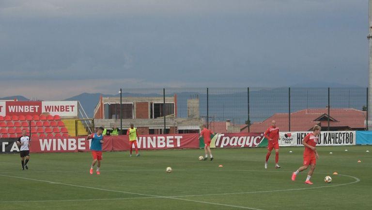 Царско село и Славия се подготвят за последния мач от кръга