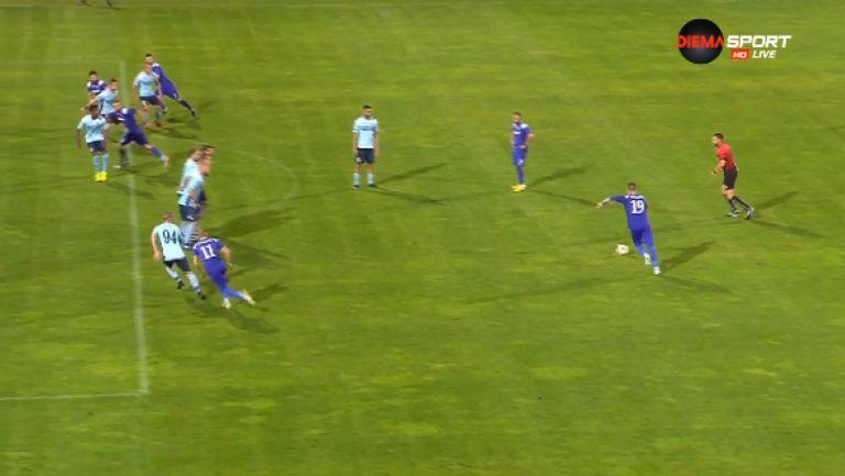 3:1 за Етър след феноменален пряк свободен удар на Тонислав Йорданов