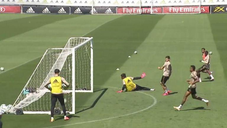 Реал (Мадрид) проведе последната си тренировка преди подновяването на първенството