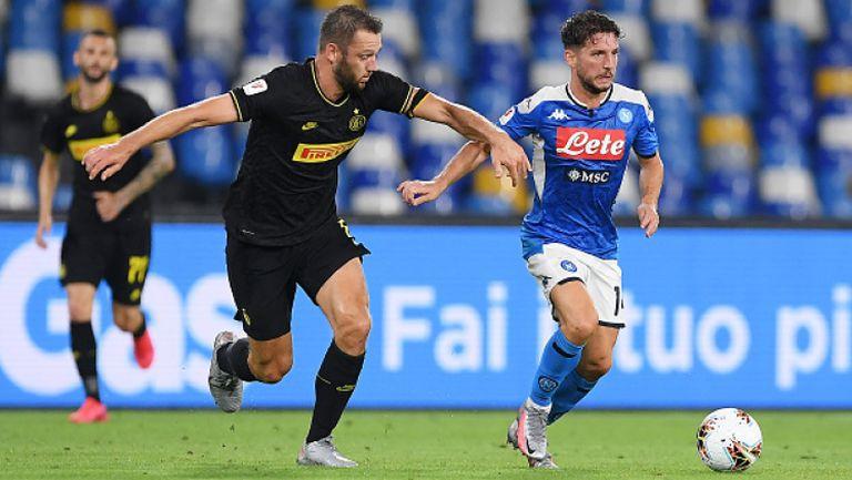 Наполи удържа Интер и е на финал за Купата на Италия