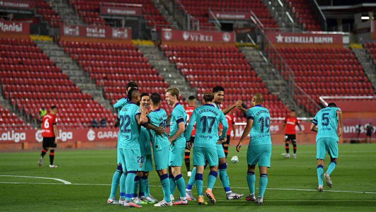 Майорка - Барселона 0:4