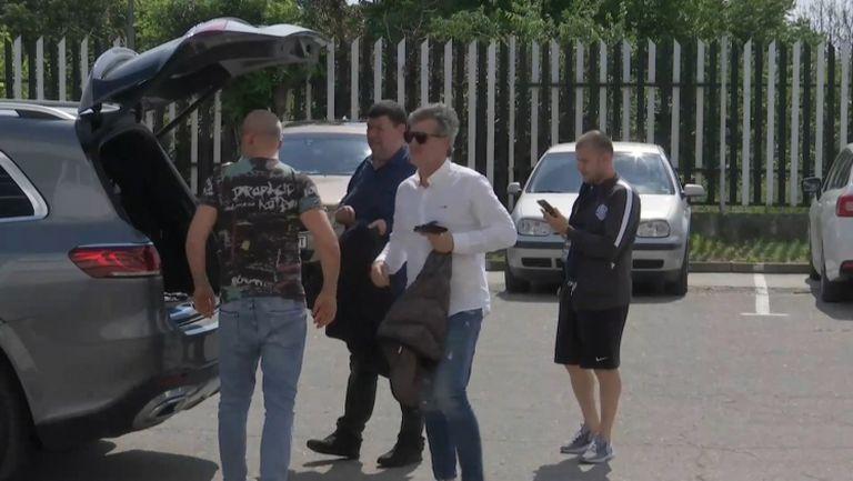 И Емил Костадинов пристигна в Пловдив