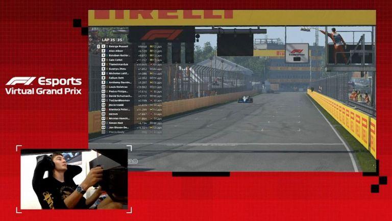 Джордж Ръсел с поредна победа във виртуалната Формула 1