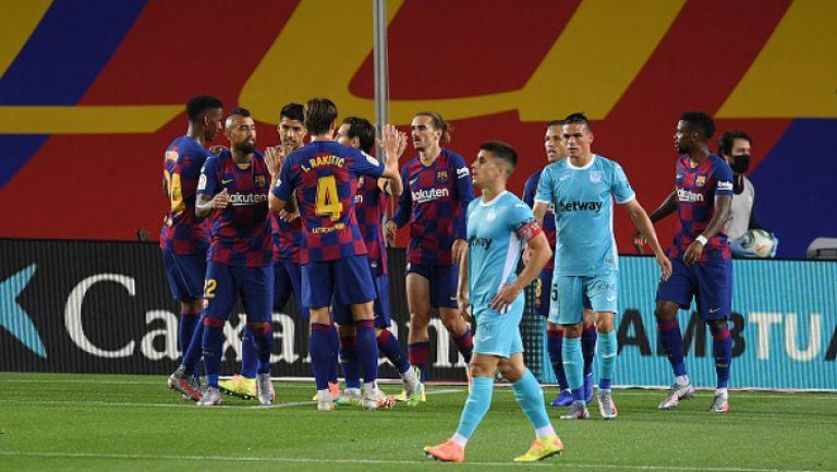 Барселона - Леганес 2:0
