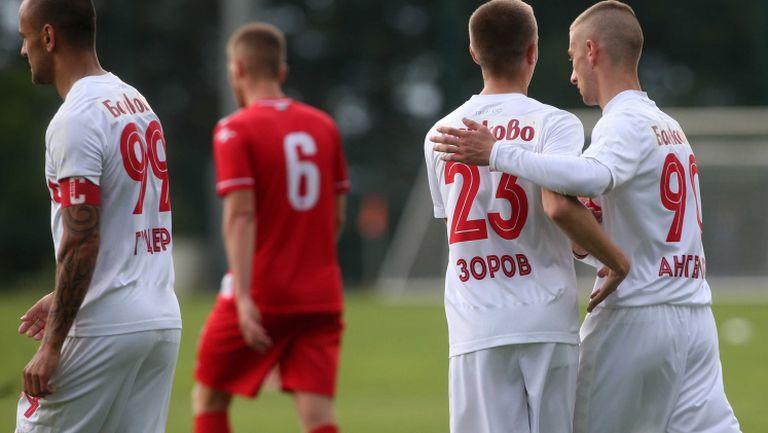 Филип Ангелов прониза вратата на Беласица за 2:0