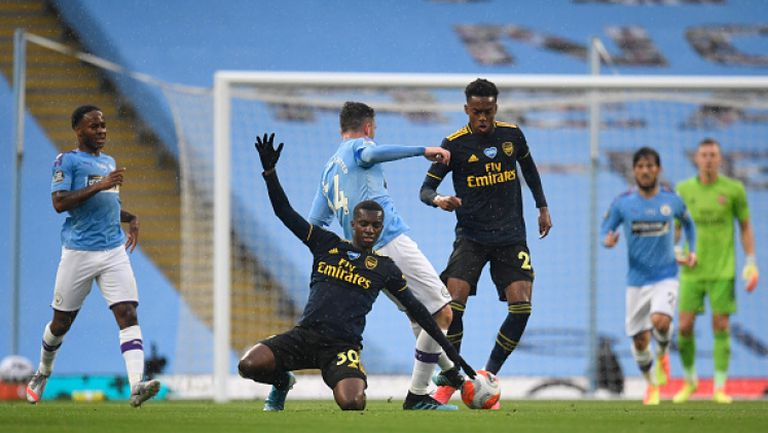 Манчестър (Сити) - Арсенал 3:0