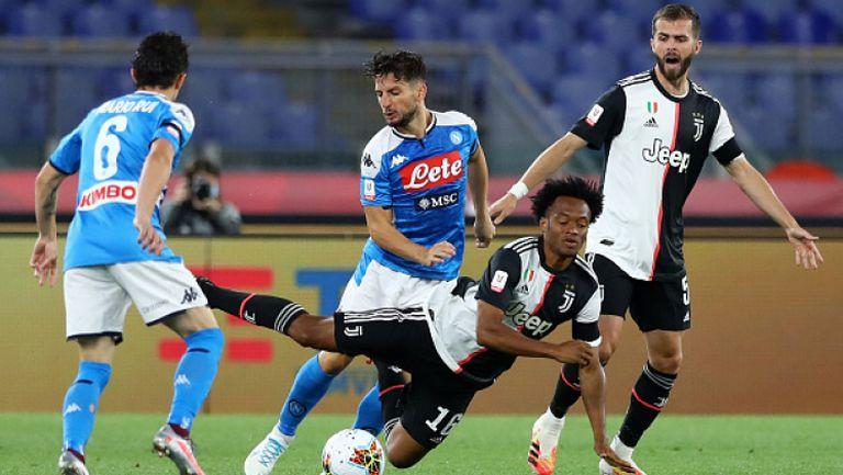 Наполи спечели Купата на Италия