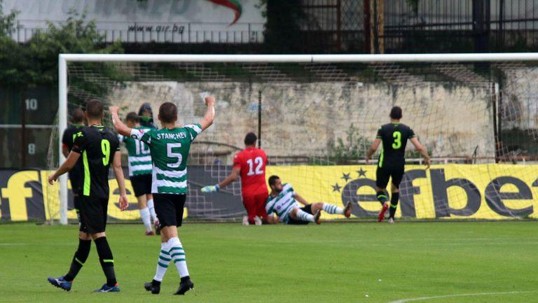 Исмаил Иса се разписа за Черно море за 1:0 срещу Витоша (Бистрица)
