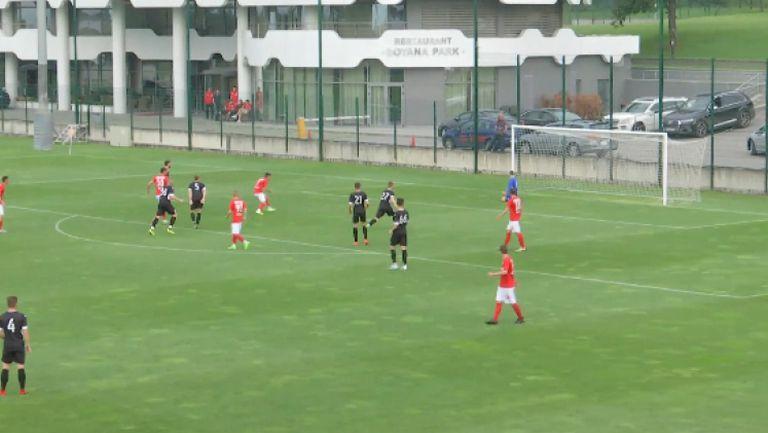 Шопов се разписа за 4:1 за ЦСКА 1948