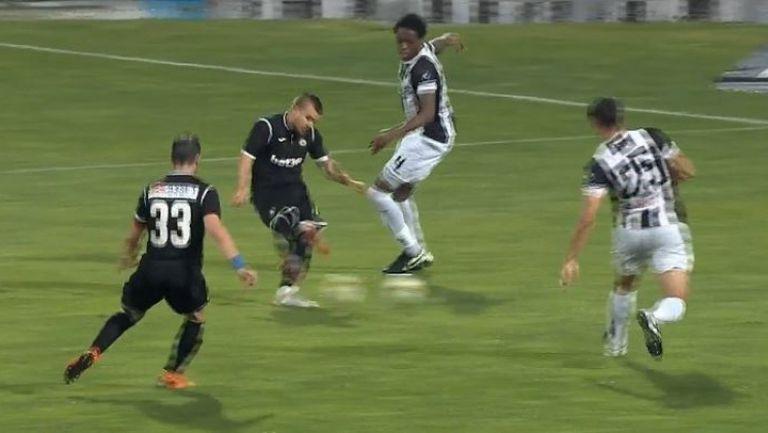 Радослав Кирилов влезе от скамейката и вкара за Славия за 1:0 срещу Локо (Пд)