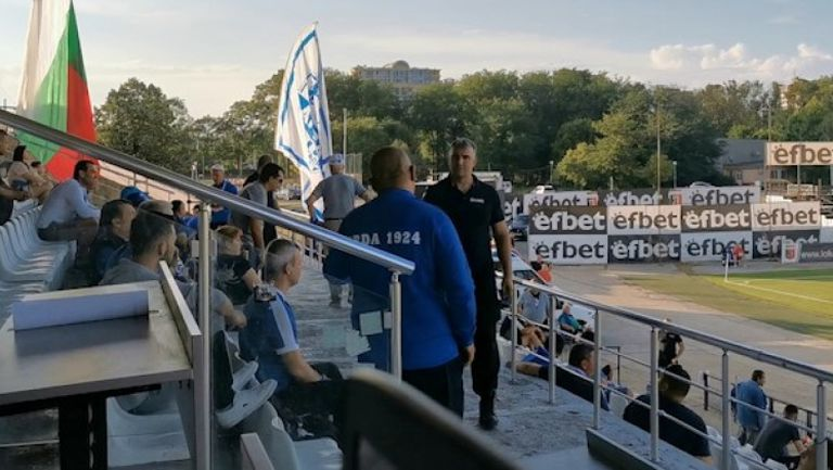 Напрежение в агитката на Арда след втория гол за Дунав