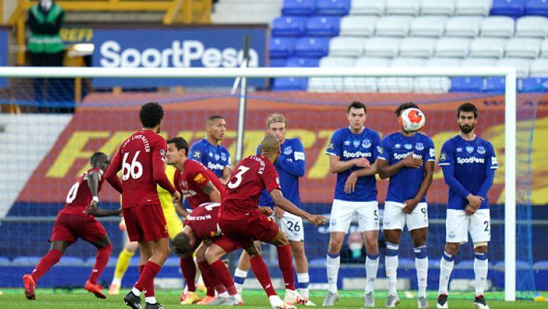 Евертън - Ливърпул 0:0
