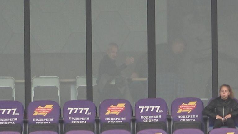 Крушарски и Сираков заедно преди полуфинала за Купата