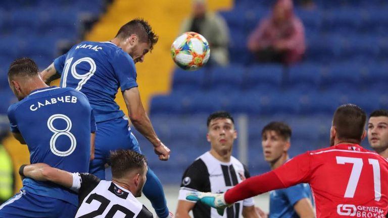 Отмениха гол на Левски заради нарушение на Каргас
