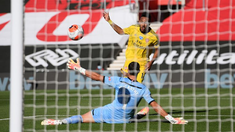 Саутхамптън - Арсенал 0:2