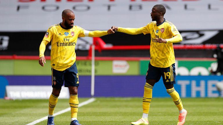 Гол в края прати Арсенал на полуфиналите