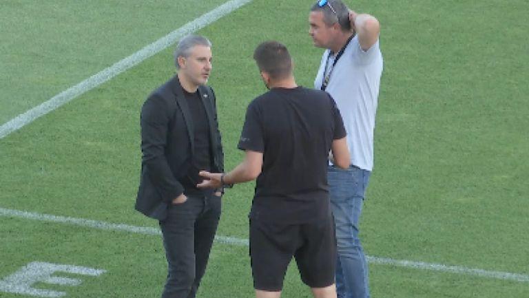 """Павел Колев е на стадион """"Берое"""", за да наблюдава мача на Левски със старозагорци"""