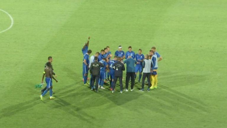 Георги Тодоров се поклони на сините футболисти след победата
