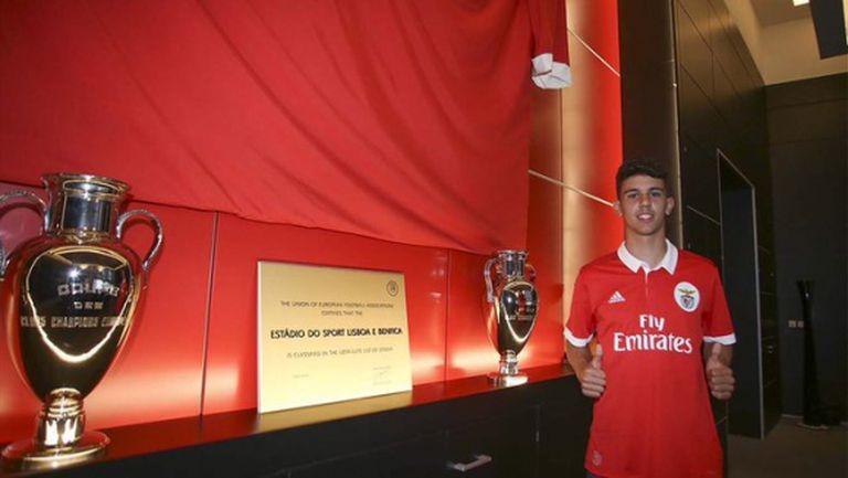 Милан е по петите на талант от Бенфика