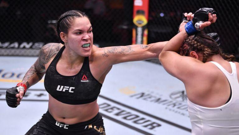 Аманда Нунеш доминира над Фелиша Спенсър на UFC 250 (видео + снимки)