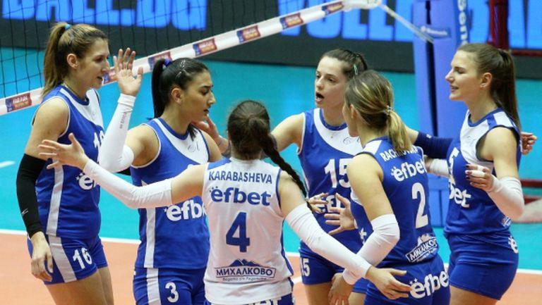 Изчезна Левски във волейбола при жените