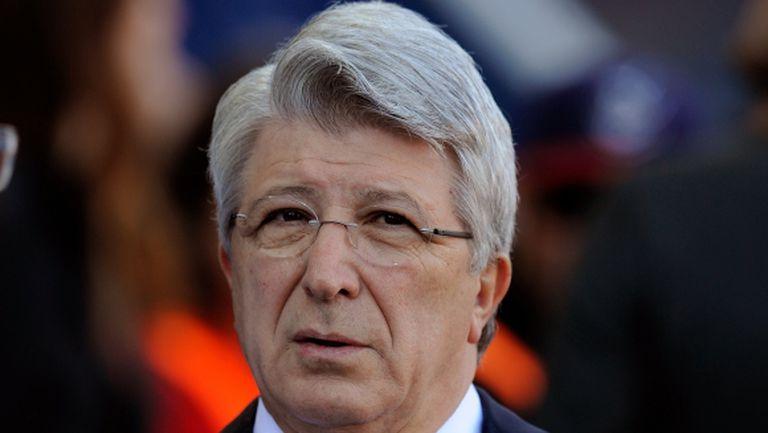 Президентът на Атлетико: Имаме сили да спечелим Шампионската лига