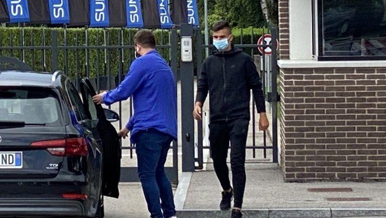 Никола Илиев пристигна на тренировъчната база на Интер