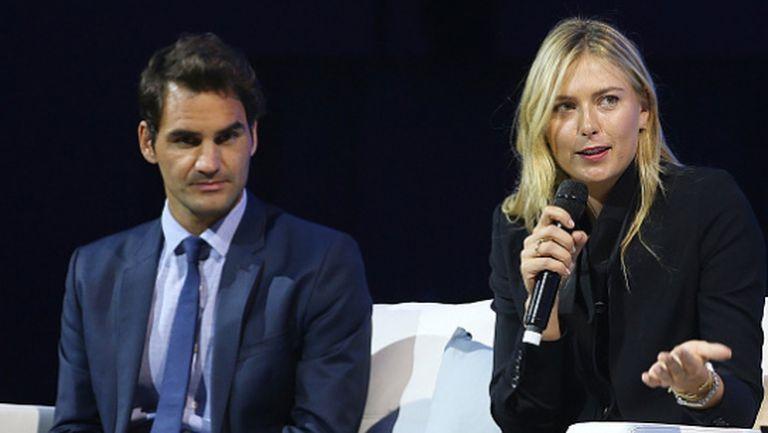 Федерер и Шарапова зарадваха децата от академията на Рафа Надал (видео)