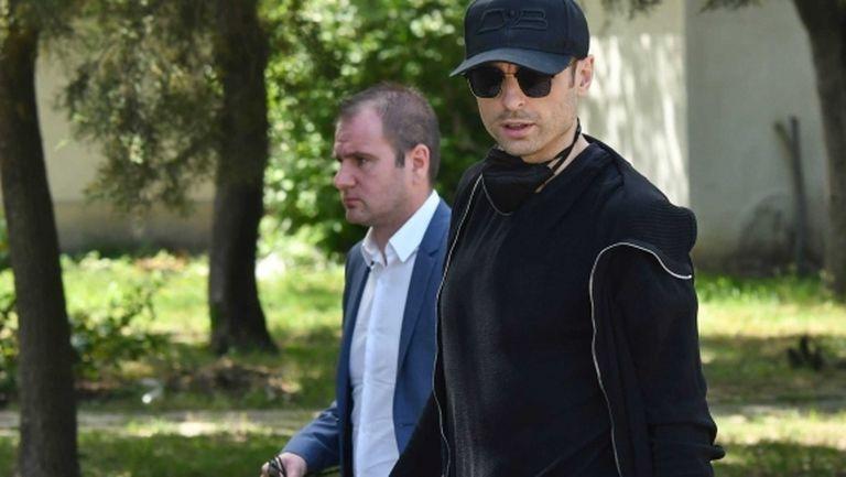 Бербатов дойде да се прости с Борис Гаганелов (видео+галерия)