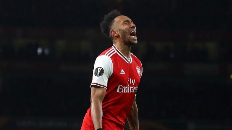 В Арсенал таят надежда, че Обамеянг ще остане в отбора