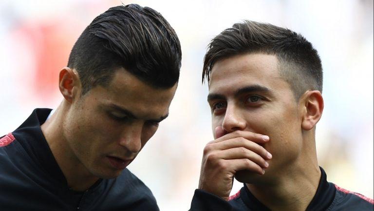 Трудно е играчи като Дибала и Роналдо да бъдат едновременно на терена, смята Сари