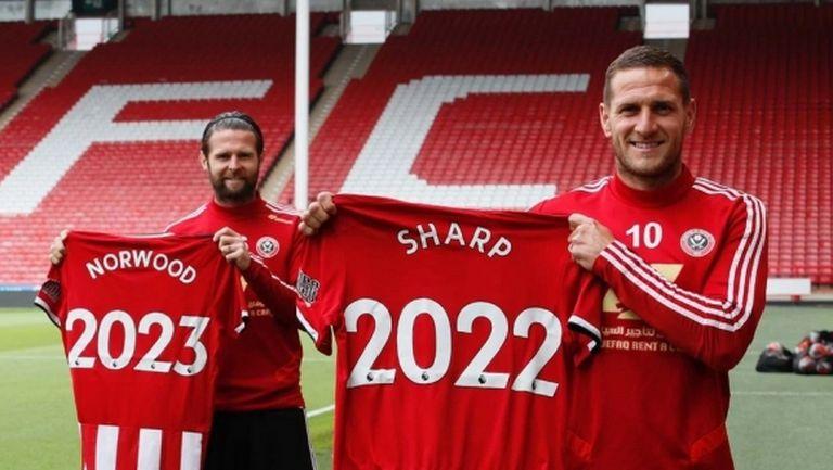 Шефилд Юнайтед продължи договорите на двама футболисти