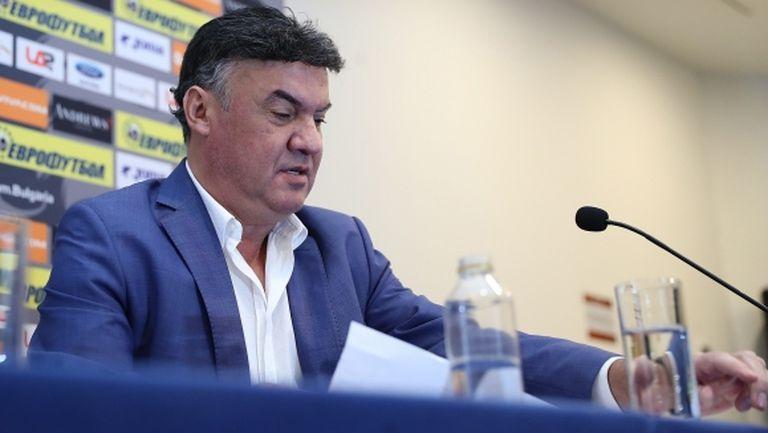 Боби няма да влиза в управата на Левски