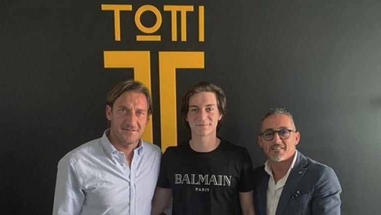 Талант на Интер е първият клиент на мениджърската агенция на Тоти