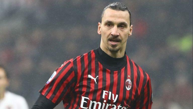 Ибрахимович ще доиграе сезона в Милан