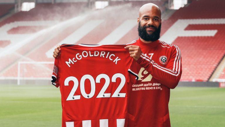 Дейвид МакГолдрик подписа нов договор с Шефилд Юнайтед