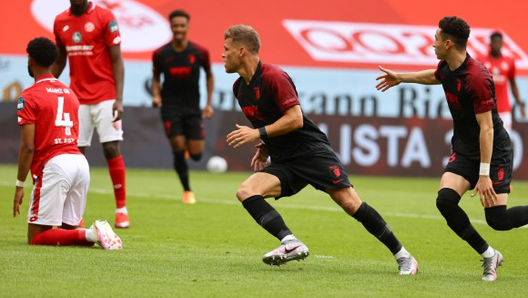 Аугсбург извоюва най-важния си успех за сезона (видео)