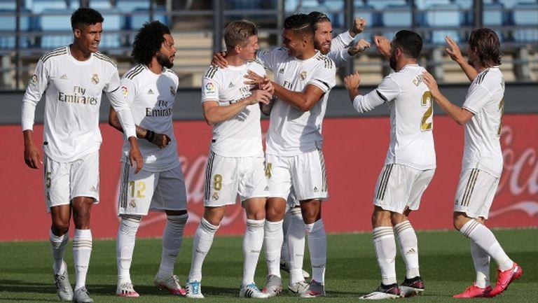 """Реал Мадрид се разходи за първа победа на """"Ди Стефано"""" (видео + галерия)"""